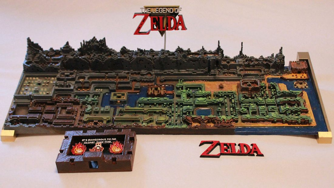 Jeff Farziers Legend of Zelda-3D-Weltkarte machte den US-Amerikaner über Nacht zum Star