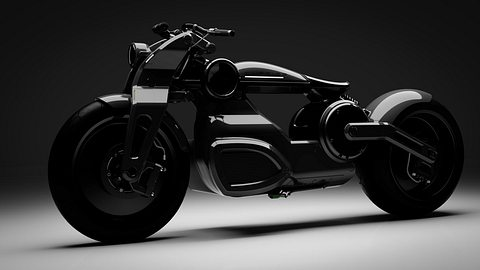Zeus x Blade Runner: Curtiss Zeus Electric Bobber