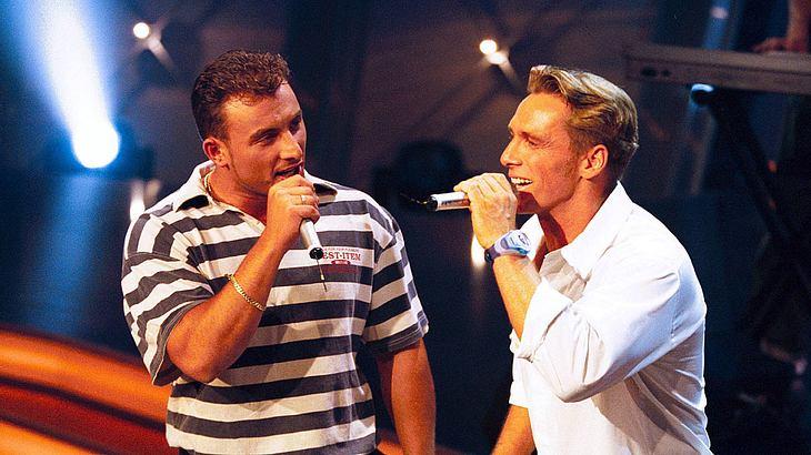 Zlatko Trpkovski und Jürgen Milski im Juli 2000.