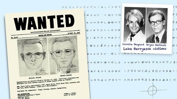 Collage zum Zodiac-Killer-Fall - Foto: imago images / ZUMA Wire