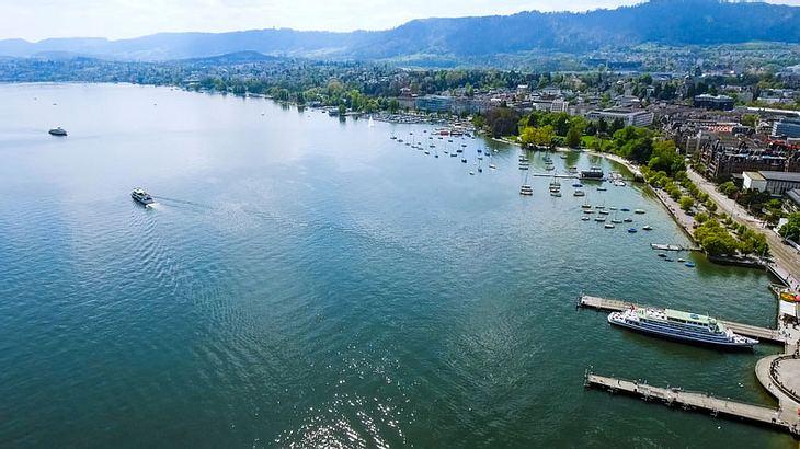 Der Zürichsee.