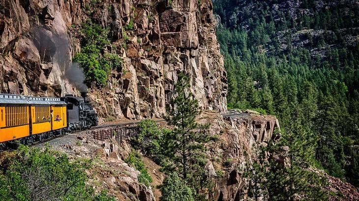 Mit dem Zug durch Colorado