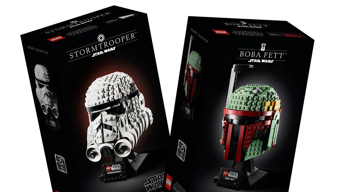Zwei neue Star-Wars-Büsten von Lego - Foto: Lego Group