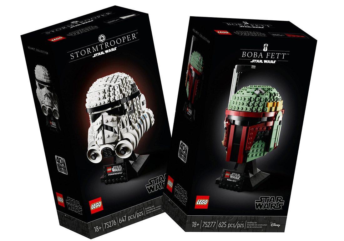 Zwei neue Star-Wars-Büsten von Lego
